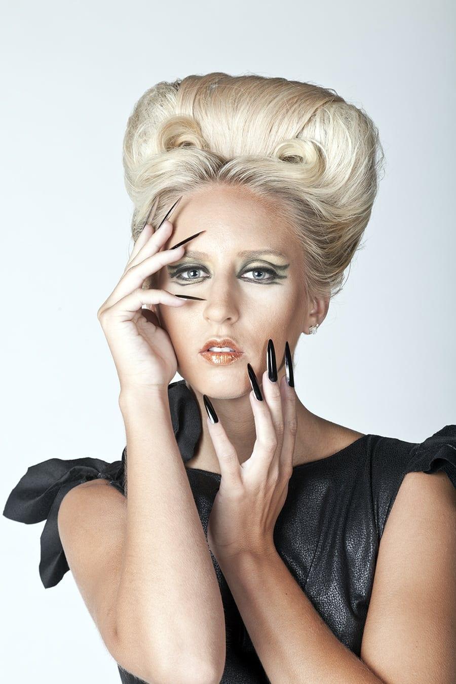 Location: Atlanta, GA Model: Katee Lee Hair: Angela Moceri Make-UP: Isabelle Schreier Fashion designer: Milton Aaron, Toi Williams Theary Sim whose creative vision designed Photographer : Terry Check