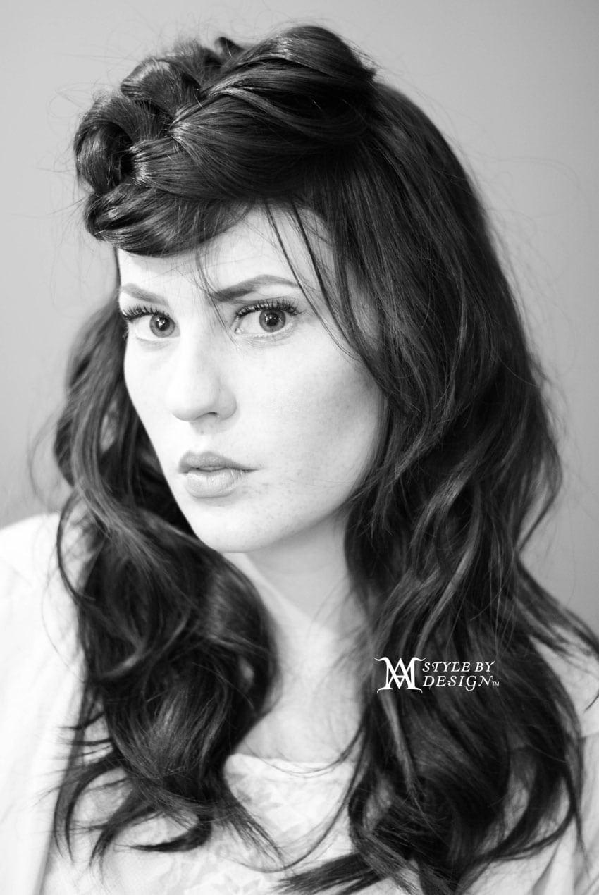 Hair - Angela Model-Madeleine Photographer- Angela Location: Atlanta, GA